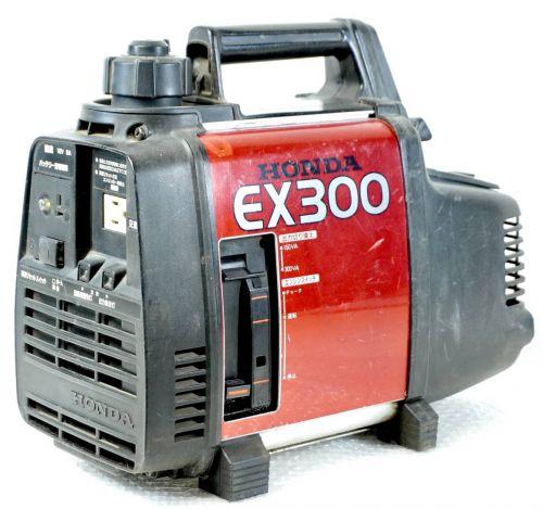 HONDA小型発電機EX3002サイクルエンジン作動確認済持ち運びに便利!エステートセールFHM