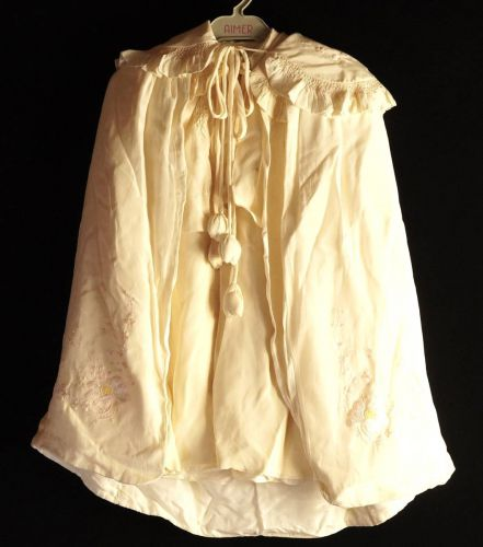 昭和ビンテージ三越子供用洋服女の子用4枚セット花柄刺繍が柔らかな素材がとても素敵です!エステートセールATN