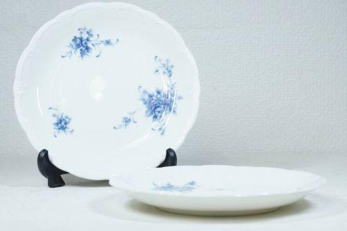 ノリタケスタジオコレクションオールドノリタケ再生産品モールド技法染付小花散紋ケーキ皿エステートセールいたします!MHF