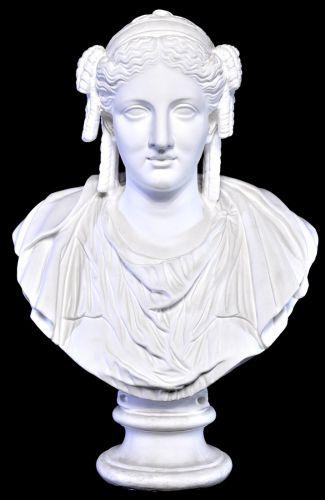 ビンテージパジャント胸像ベレニケ石膏像原型はルーブル美術館に収蔵直径65cm高さ80cmエステートセールMSK