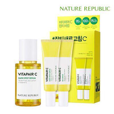 NATURE REPUBLIC ビタペアCシミセラム Vitapair C dark spot serum Set スペシャル セット(セラム45ml+クリーム10ml*2)
