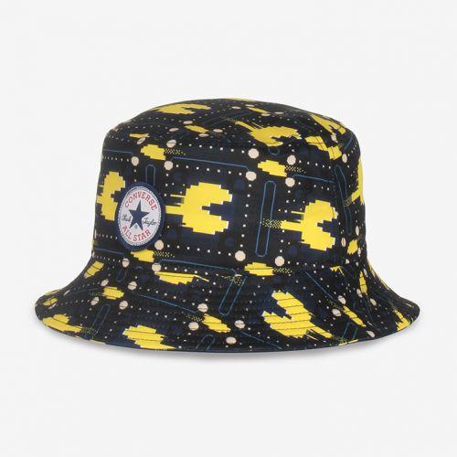 CONVERSExPAC-MAN PRINT BUCKET HAT - Yellow - All