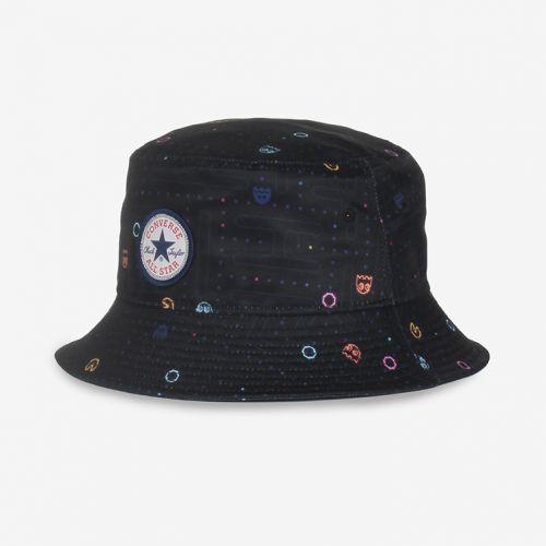 CONVERSEx PAC-MAN PRINT BUCKET HAT